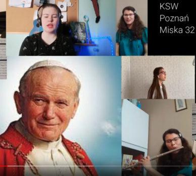 100-lecie urodzin Jana Pawła II – Nauczyciele i uczniowie – Pamiętamy!